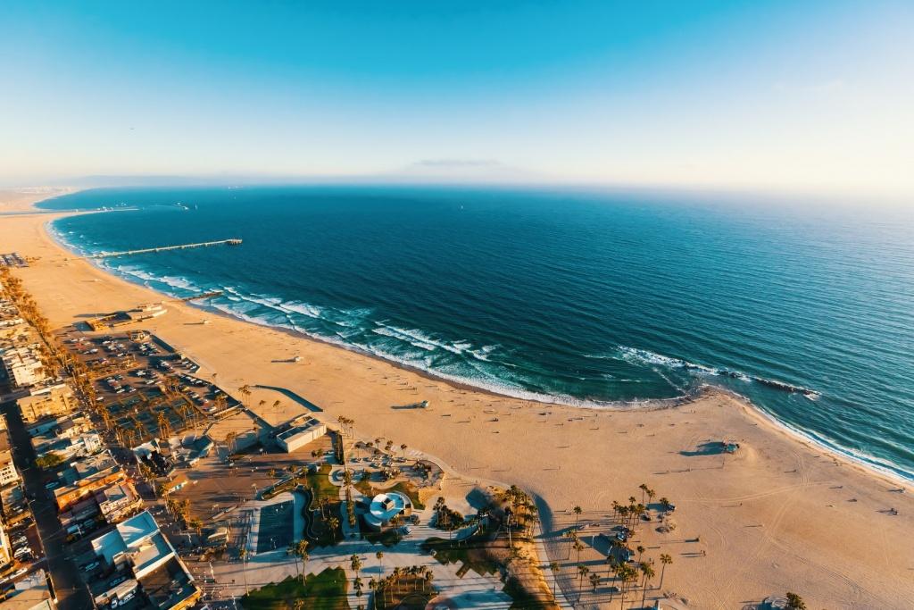 Map Of California Beaches - Map Of Ocean Beach California
