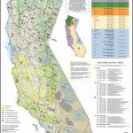 Map Of California Hunting Zones | Download Them And Print   Deer Hunting Zones In California Maps
