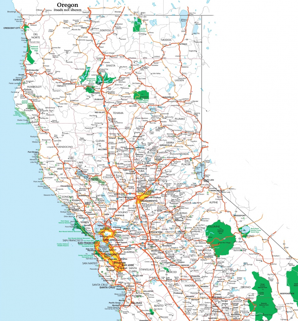 Map Of California | State Map Of Usa | United States Maps - Ono California Map