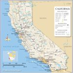 Map Of California State, Usa   Nations Online Project   Map Of Central California Coast Towns