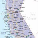 Map Of California With Cities California Map With Cities Northern   Map Of California Coast Cities