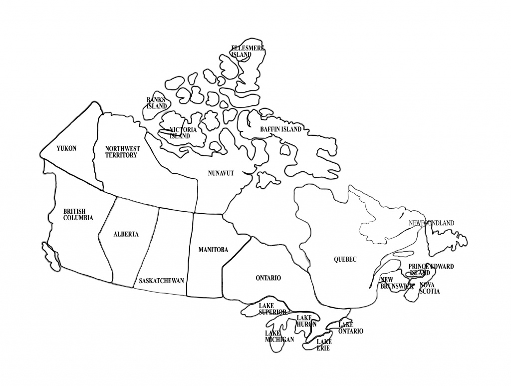 Map Of Canada | Homeschool | Canada For Kids, Maps For Kids, Map - Large Printable Map Of Canada