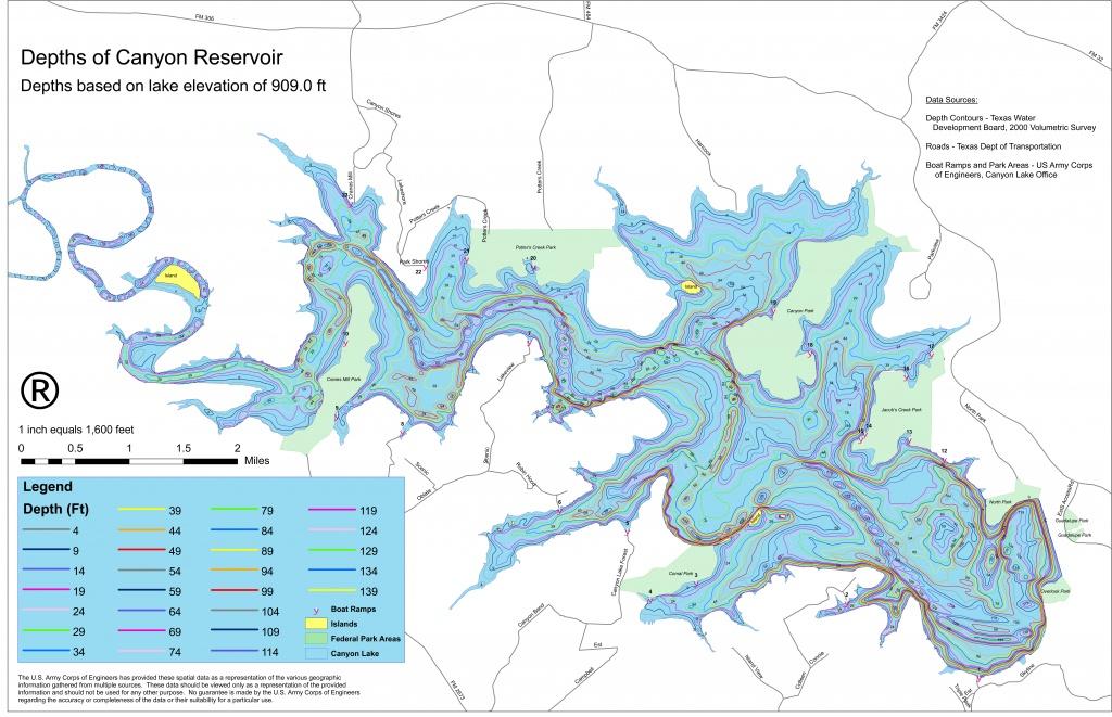 Map Of Canyon Lake Texas | Business Ideas 2013 - Texas Lake Maps Fishing