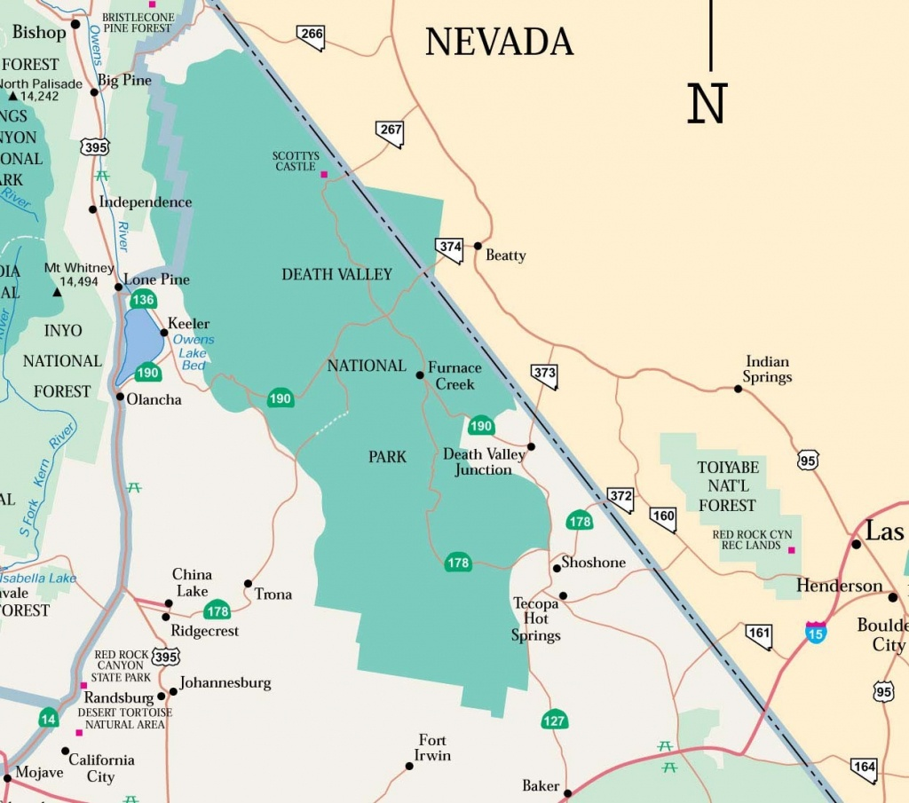 Map Of Death Valley Ca Nd   D1Softball - Death Valley California Map