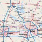 Map Of Dfw Metroplex – Map Dfw Metroplex (Texas – Usa) – Printable Map Of Fort Worth Texas