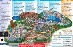 Map Of Disneyland And California Adventure Park Map Of Disney   Disney California Map