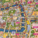 Map Of Downtown And Sa River. | San Antonio, Tx. & Surrounding Areas   Map Of Downtown San Antonio Texas