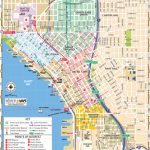 Map Of Downtown Seattle: Interactive And Printable Maps | Wheretraveler   Printable Map Of Seattle Area