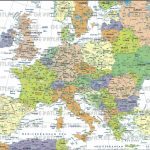 Map Of European Cities At Europe City On Printable With In 8   World   Printable Map Of Europe With Cities