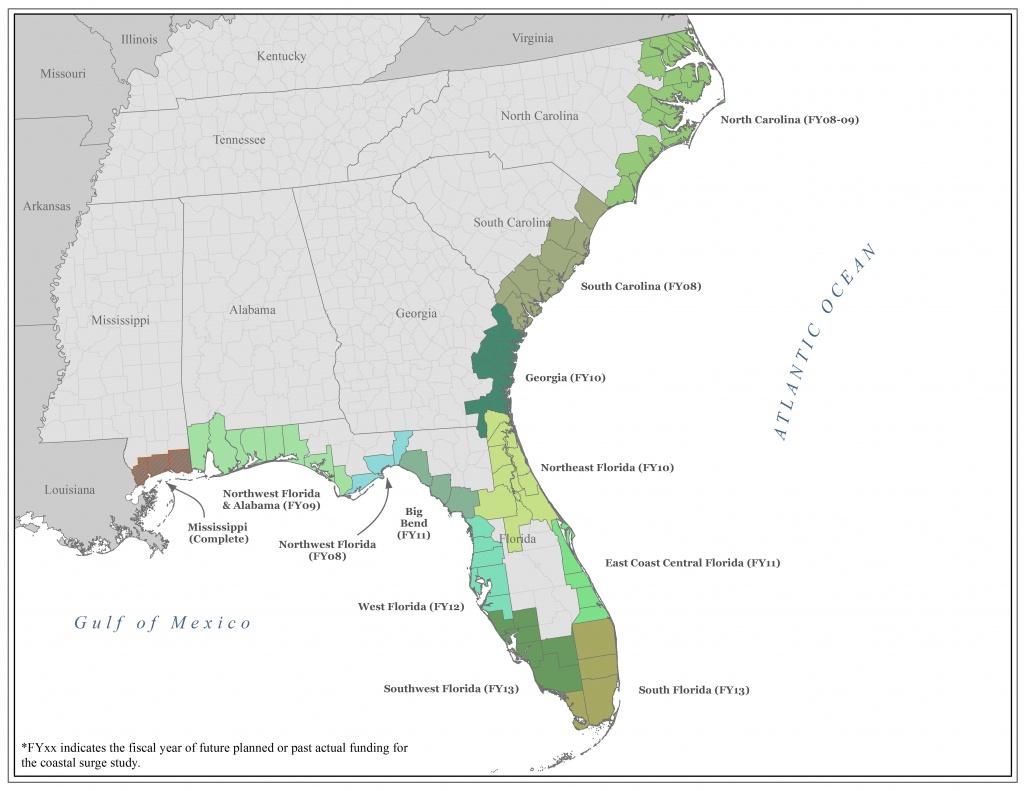 Map Of Fla Gulf Coast And Travel Information | Download Free Map Of - Alabama Florida Coast Map