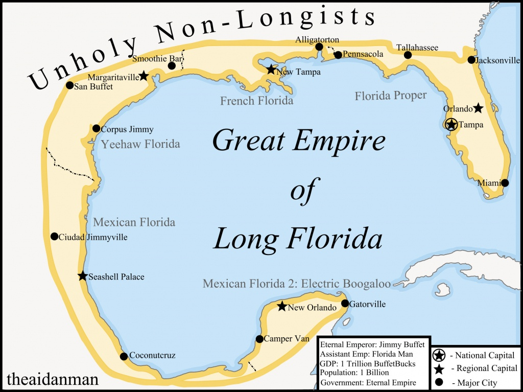 Map Of Florida, 2045. (Not My Oc) : Florida - Yeehaw Junction Florida Map