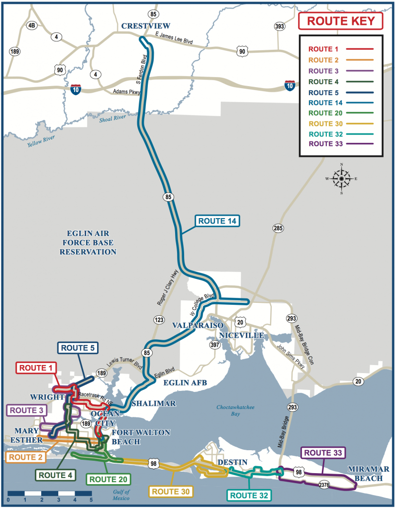 Map Of Florida Fort Walton   Download Them And Print - Ft Walton Florida Map