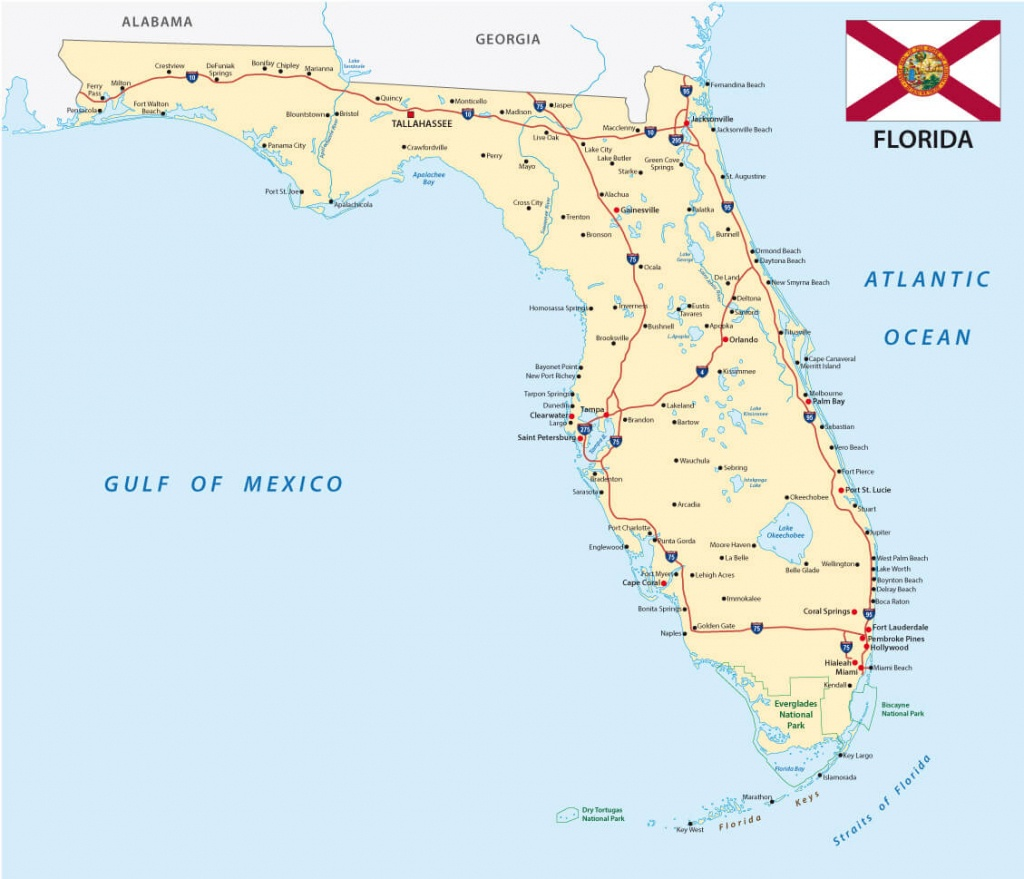 Map Of Florida - Guide Of The World - Coral Bay Florida Map