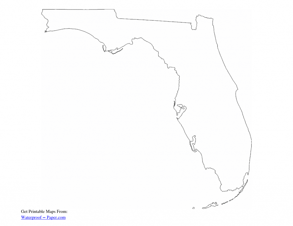 Map Of Florida Outline - Google Search | Art Journal - Countries - Florida Map Outline Printable