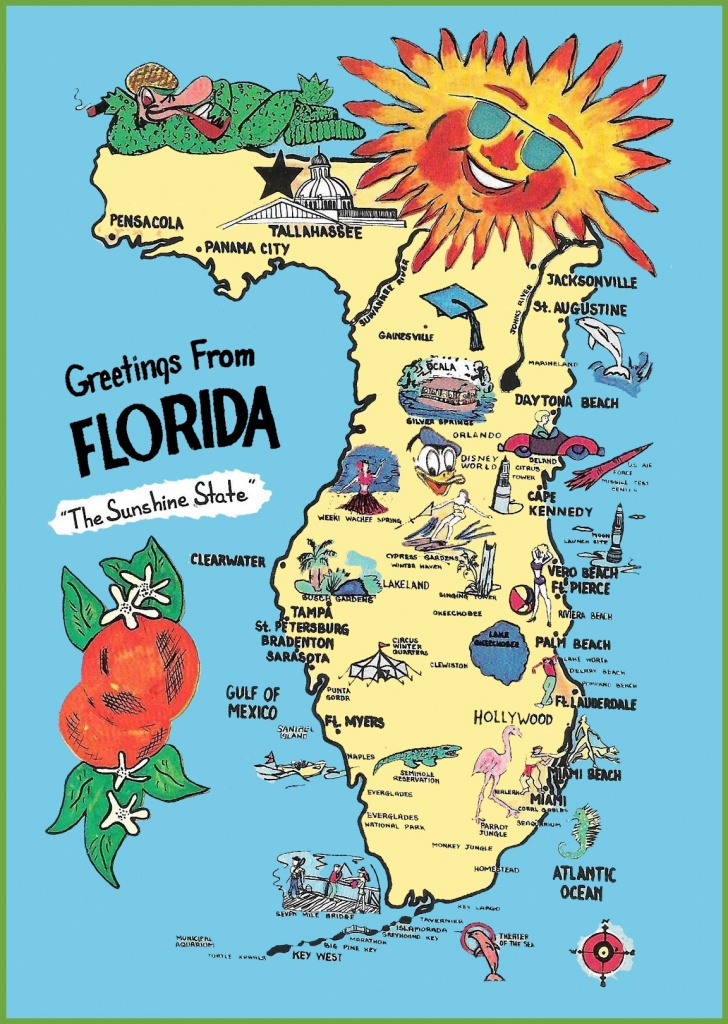 Map Of Florida Tourist Attractions | Download Them And Print - Florida Travel Guide Map