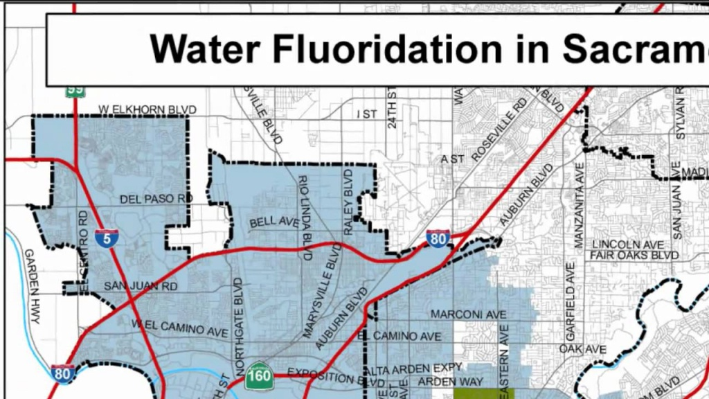 Map Of Fluoridated Areas In Sacramento Ca - Youtube - California Fluoridation Map