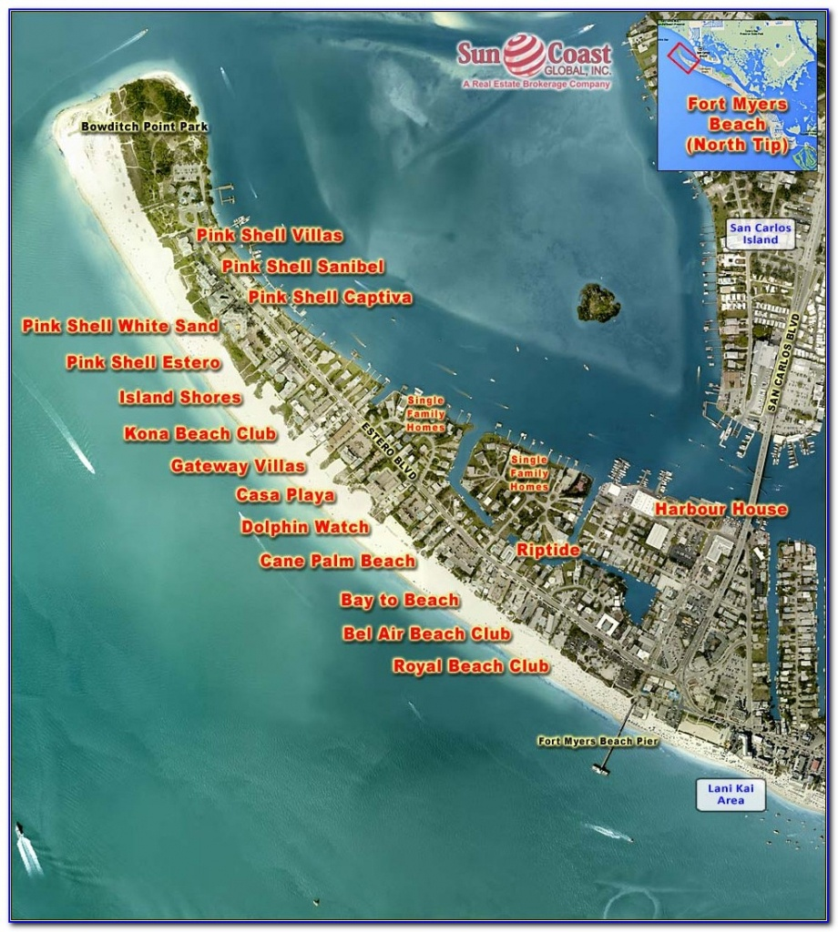 Map Of Fort Myers Beach Florida Hotels - Maps : Resume Examples - Street Map Of Fort Myers Florida