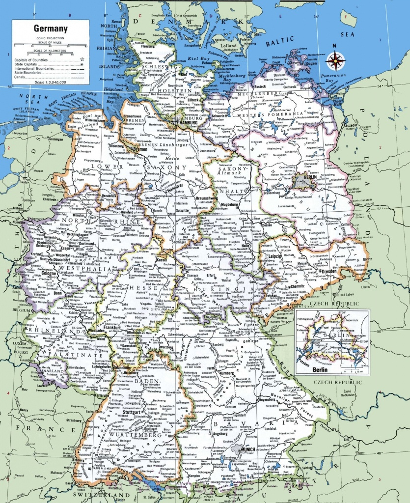 Map Of Germany With Cities And Towns | Traveling On In 2019 - Printable Map Of Germany With Cities And Towns