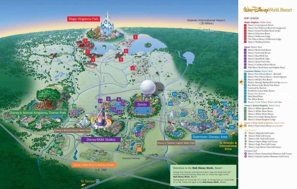 Map Of Hotels Around Disney World 249 Best Disney Images On - Map Of Disney Florida Hotels