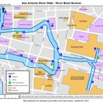Map Of Hotels On Riverwalk | 2018 World's Best Hotels   Map Of Hotels Near Riverwalk In San Antonio Texas