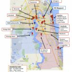 Map Of Jacksonville & Mayport, Florida | Military Town Advisor   Port St John Florida Map