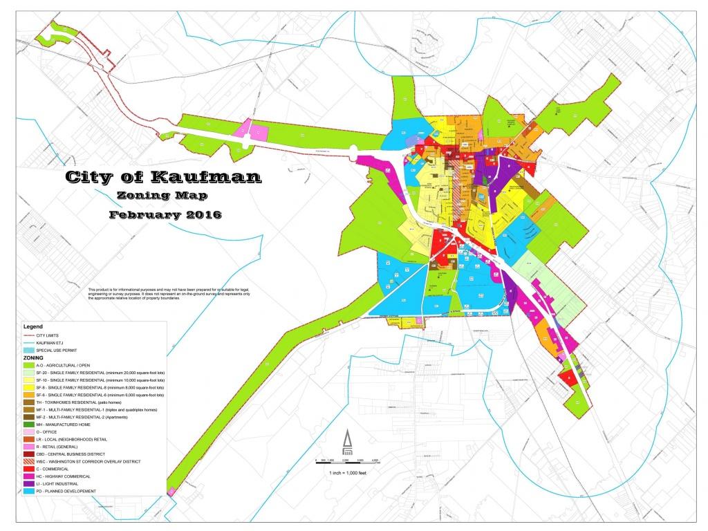 Map Of Kaufman Texas | Download Them And Print - Kaufman Texas Map