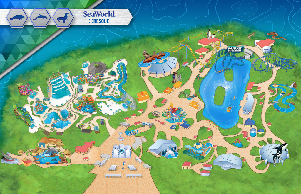 Map Of La Tourist Attractions Maps Update 14882105 In San Diego 10 - Printable Sea World San Diego Map