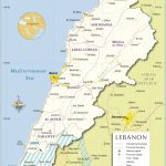 Map Of Lebanon   Travel In 2019   Lebanon Map, Map, Middle East Map   Printable Map Of Lebanon