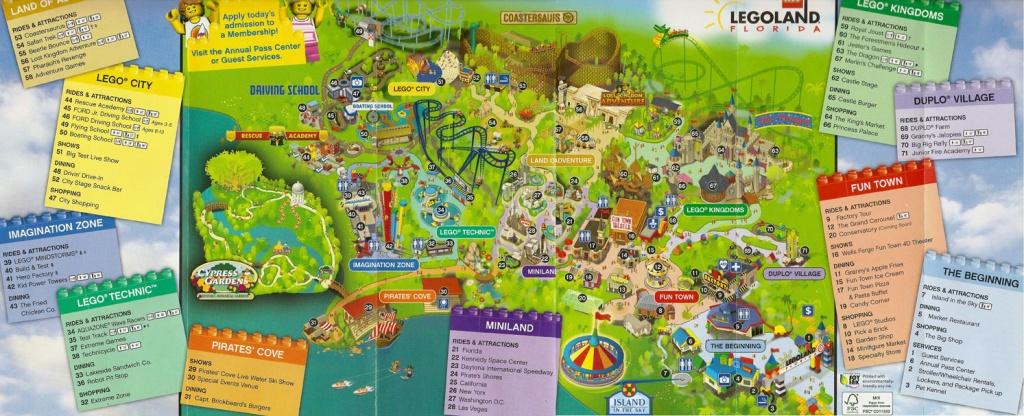 Map Of Legoland Florida - Legoland Florida Map