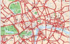Map Of London Tourist Attractions, Sightseeing & Tourist Tour   Printable Tourist Map Of London Attractions