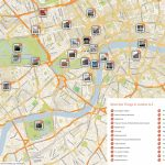 Map Of London With Must See Sights And Attractions. Free Printable – Printable Map Of London England