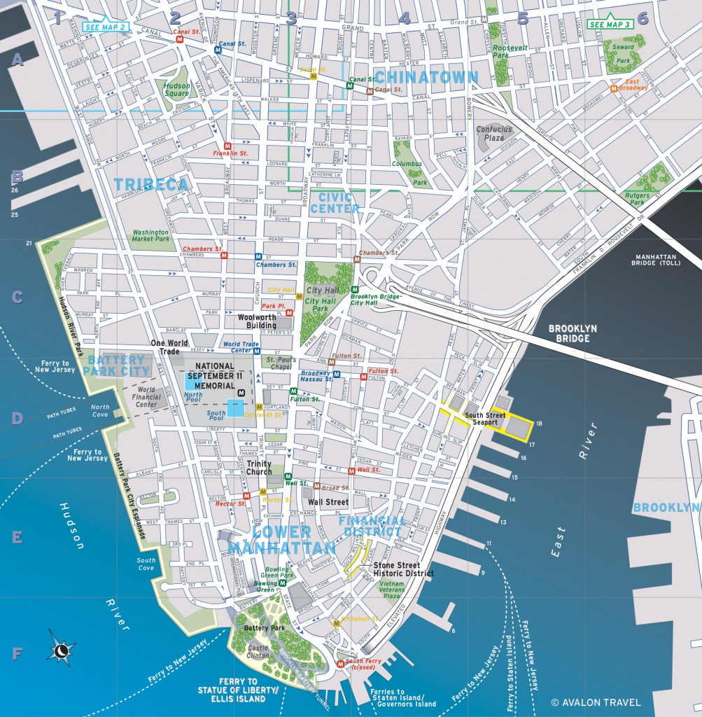 Map Of Lower Manhattan (92+ Images In Collection) Page 3 - Printable Map Of Lower Manhattan Streets