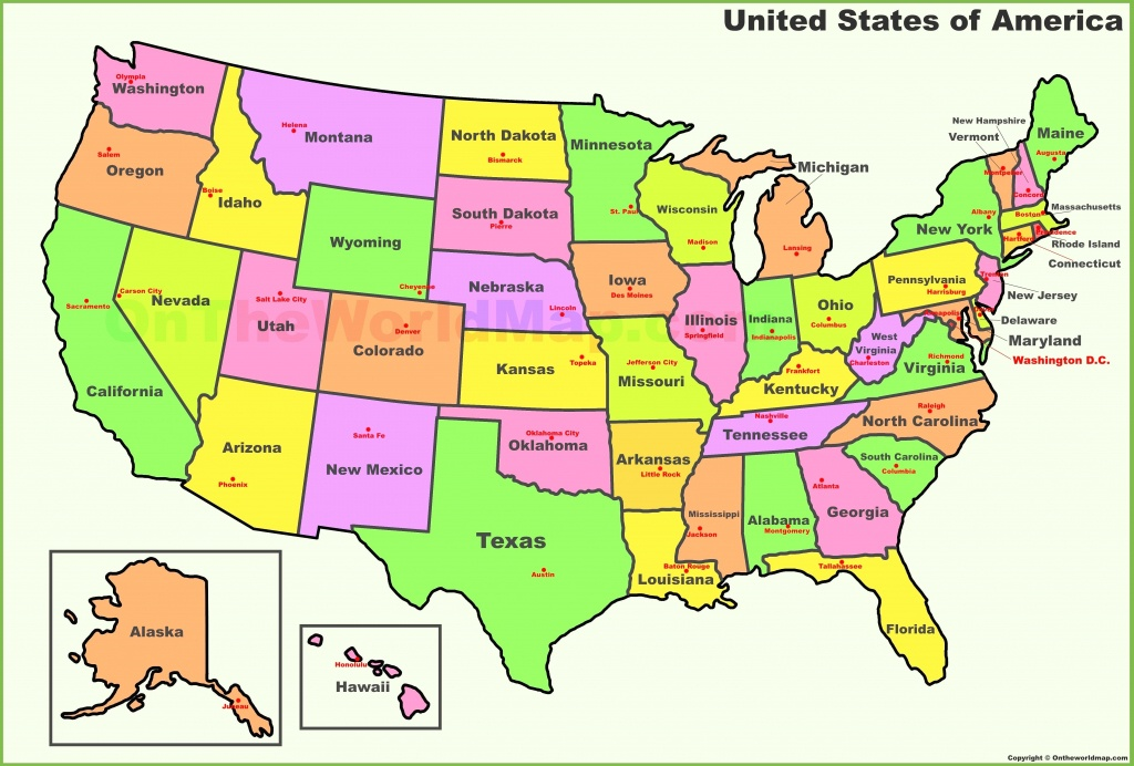 Map Of Midwest Usa States Midwest United States Of America - Map United States Of America Printable