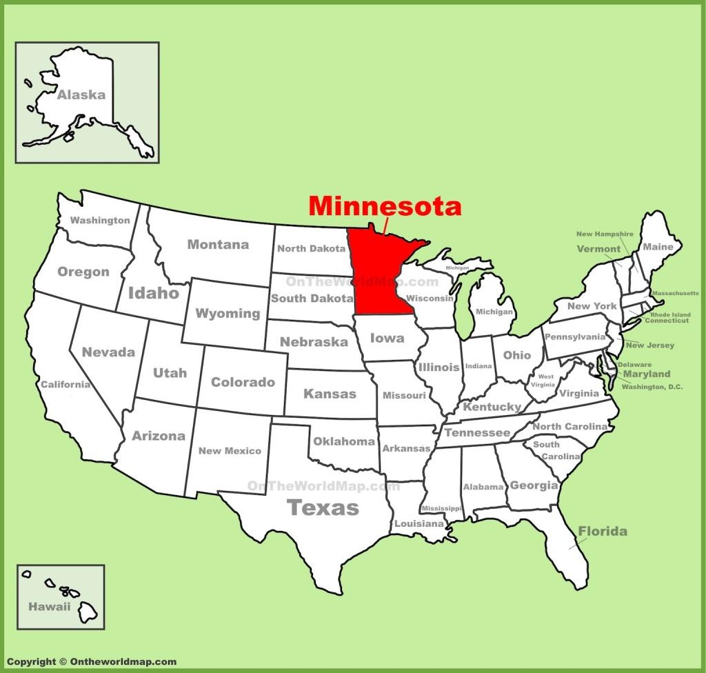 Map Of Minnesota Free And Printable - Printable Map Of Minnesota