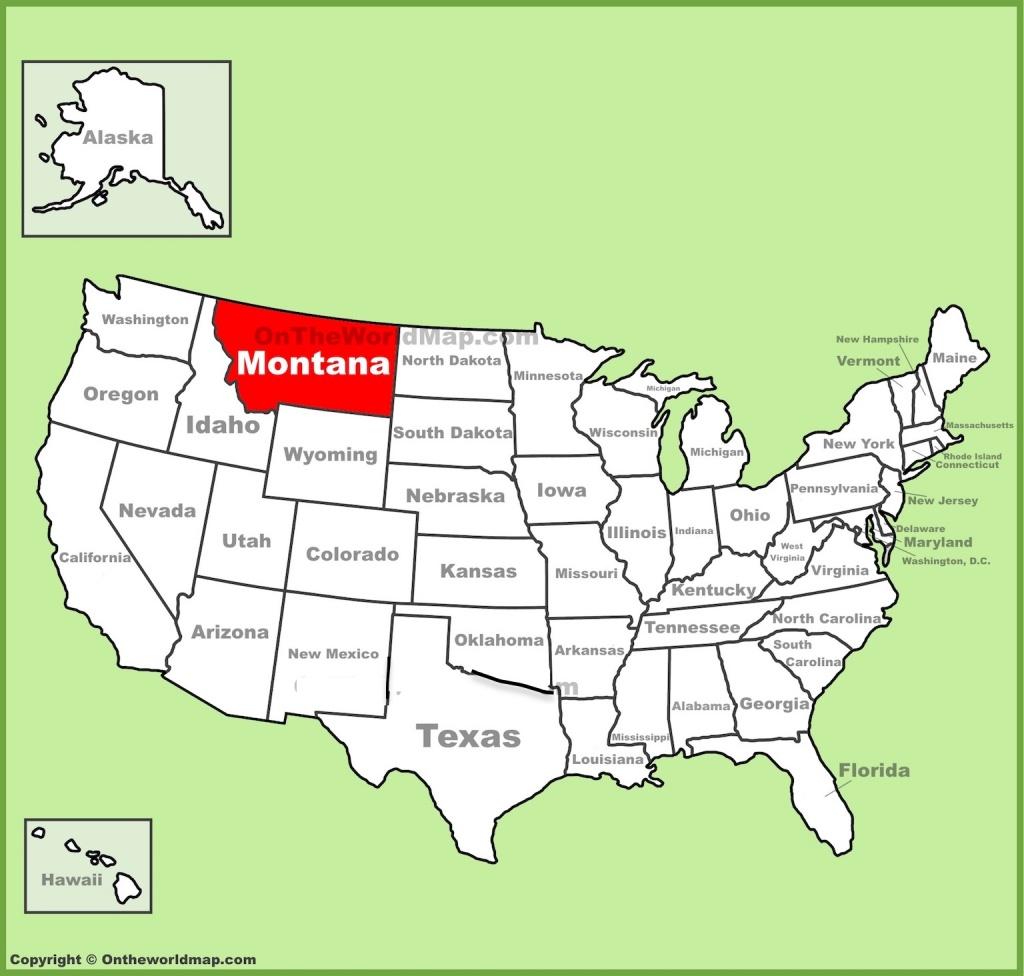Map Of Montana Free And Printable - Printable Missoula Map