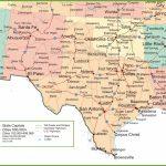 Map Of New Mexico, Oklahoma And Texas   Texas Louisiana Border Map