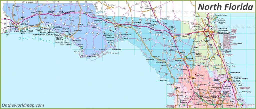 Map Of North Florida - Florida North Map