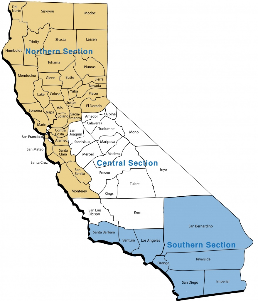 Map Of Northern California Counties Updated About Us California - Northern California County Map