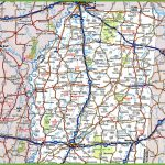 Map Of Northern Mississippi   Printable Map Of Ms