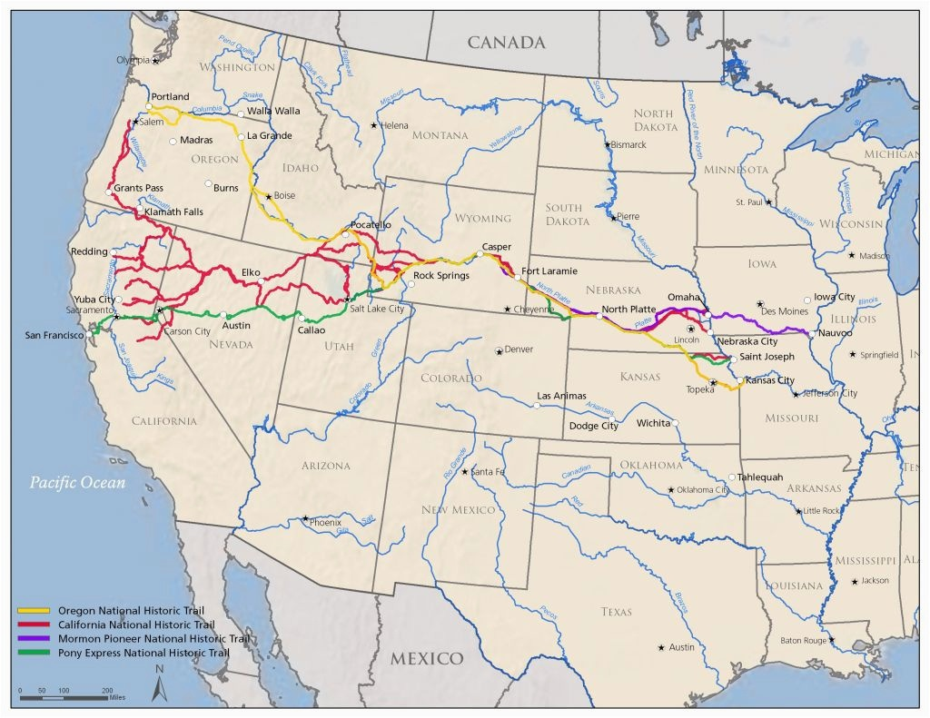 Map Of Oregon And California Coast Map Of Northern California And - Map Of Oregon And California