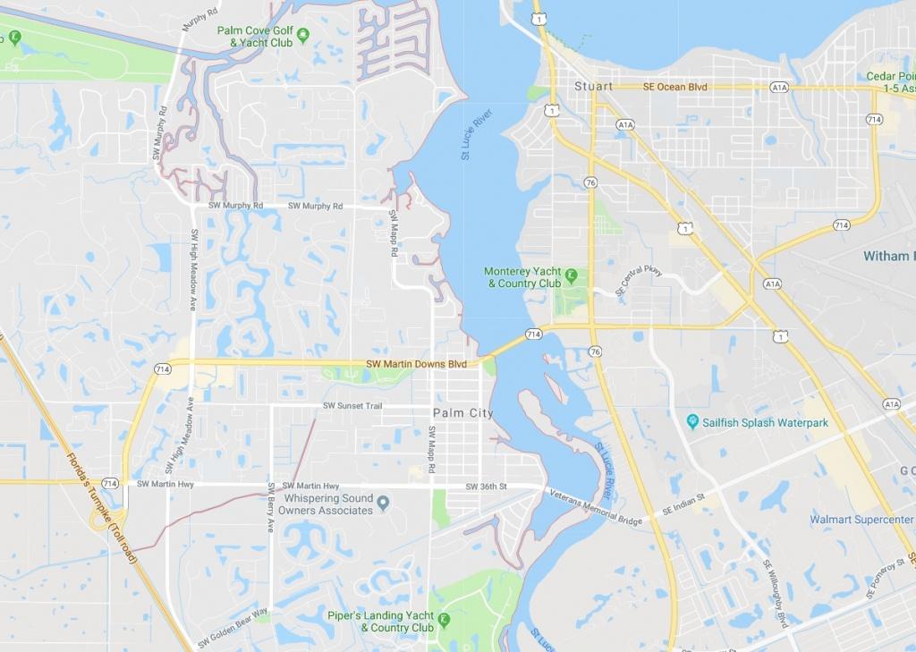 Map Of Palm City Florida - Palm City - Palm City Florida Map