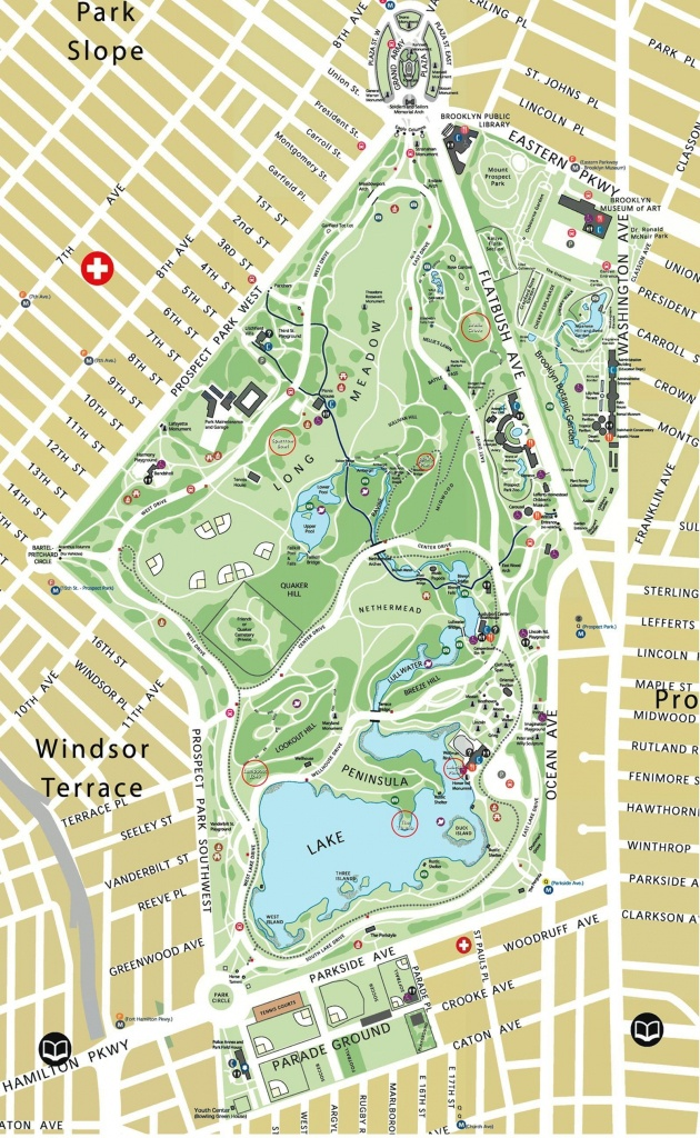 Map Of Prospect Park Brooklyn Ny | Interface Look And Feel - Prospect Park Map Printable