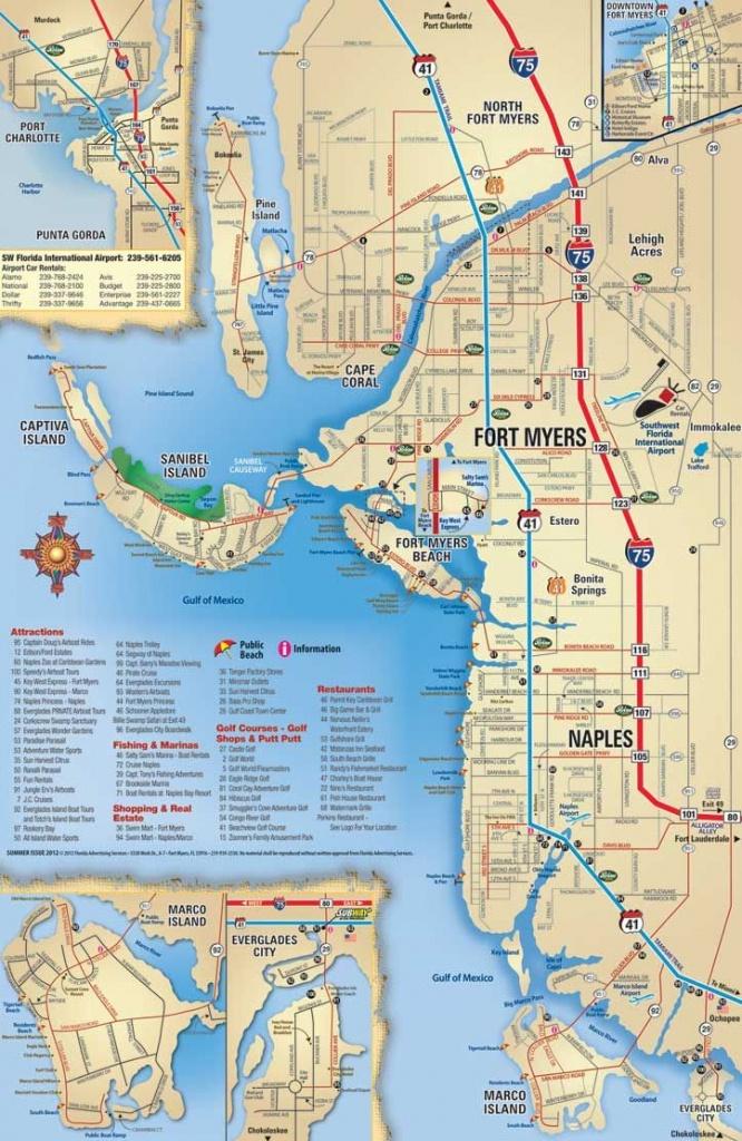 Map Of Sanibel Island Beaches    Beach, Sanibel, Captiva, Naples - Street Map Of Fort Myers Florida
