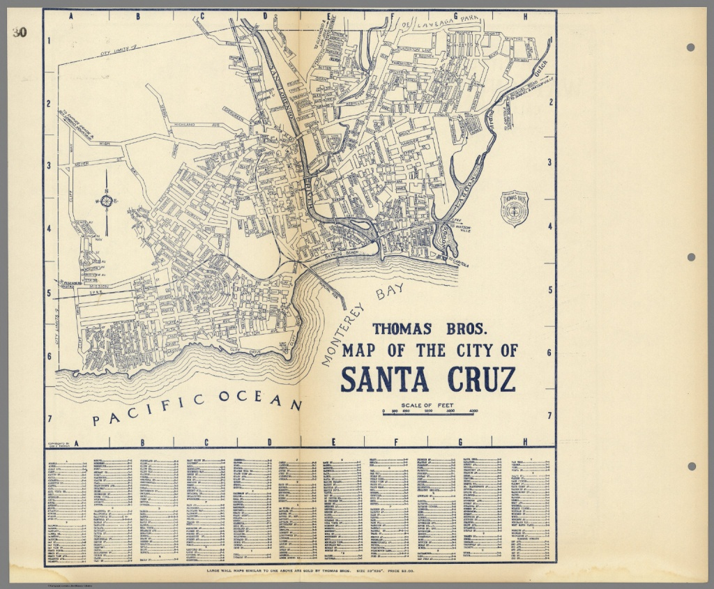 Map Of Santa Cruz California | Dehazelmuis - Where Is Santa Cruz California On The Map