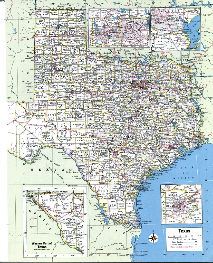 Map Of South Texas Towns And Travel Information | Download Free Map - South Texas Cities Map