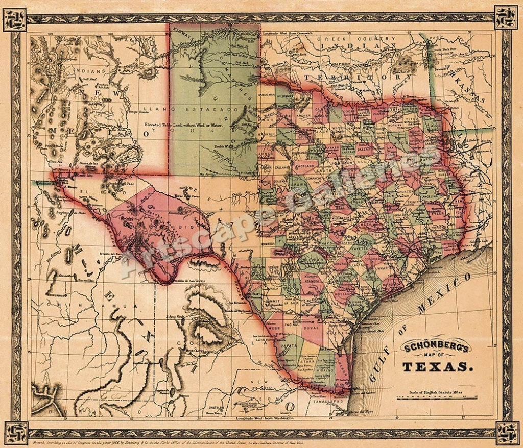 Map Of Texas For Sale | Business Ideas 2013 - Texas Maps For Sale