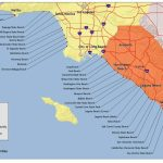 Map Of The Beaches In Southern California – Map Of Usa District   Beach Map Of California