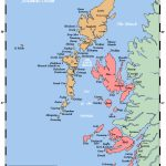 Map Of The Inner And Outer Hebrides Off Of The West Coast Of   Printable Map Skye