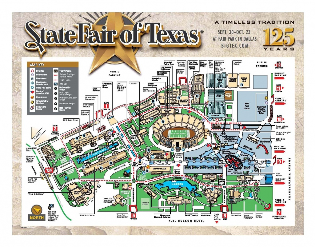Map Of The Texas State Fair | State Fair Of Texas | Texas, Map, Games - Texas State Fair Parking Map