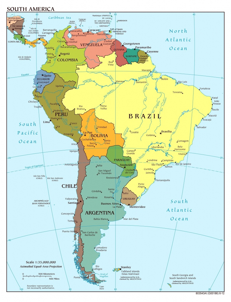Map Of Us Physical Features Ah M New Latin America South Within - South America Physical Map Printable
